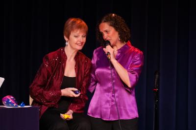 Marianne and Caryn