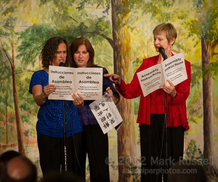 Caryn, Hilary, and Marianne
