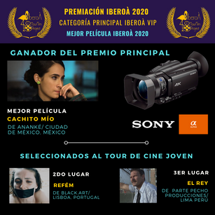 El Festival IberoÀ 2020 celebró su 2da versión y se prepara para el Tour de Cine Joven 2021.