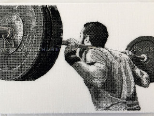 Stitched weightlifter shortlisted