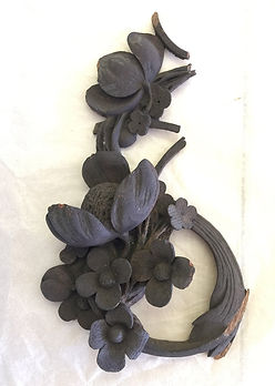 Grinling Gibbons fragment rescued from a fire at Hampton Court Palace. Copyright Historic Royal Palaces