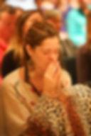 Prayer at retreat getaway