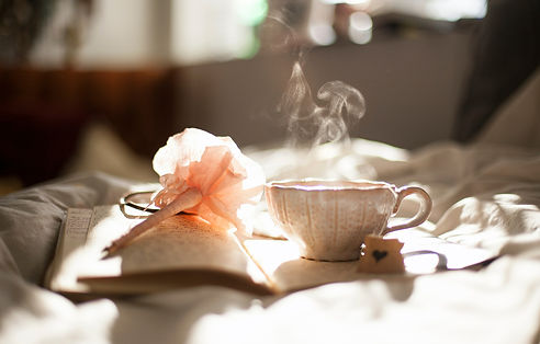 Tea and journal for your getawayy