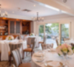 Elegant dining at Wequassett Resort on Cape Cod for a getaway