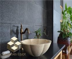 Silvia menia sink - marble egypt