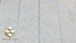 Sunny light polish tiles