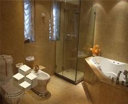 Sunny menia bathroom - marble egypt