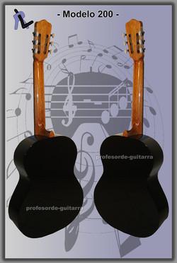 Guitarra Modelo 200 2