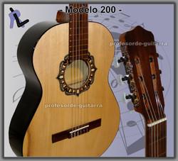 Guitarra Modelo 200 3