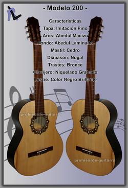 Guitarra Modelo 200 1