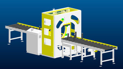 R1000 Fully-Auto Orbital Wrapping Machine