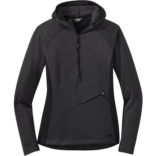 Vigor Half Zip Hooded Jacket - Women's
