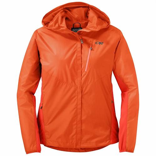 Manteau à capuchon Helium Hybrid - Femme