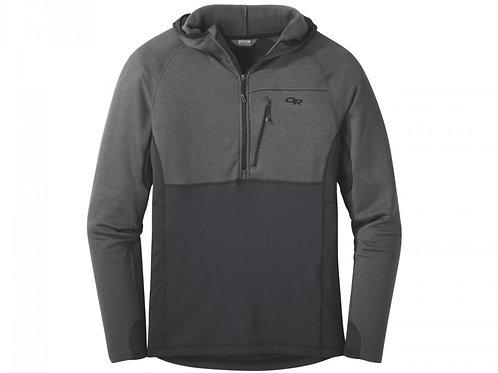 Vigor Half Zip Hooded Jacket - Men's