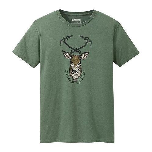 Stag Ax Short Sleeve Shirt - Men's