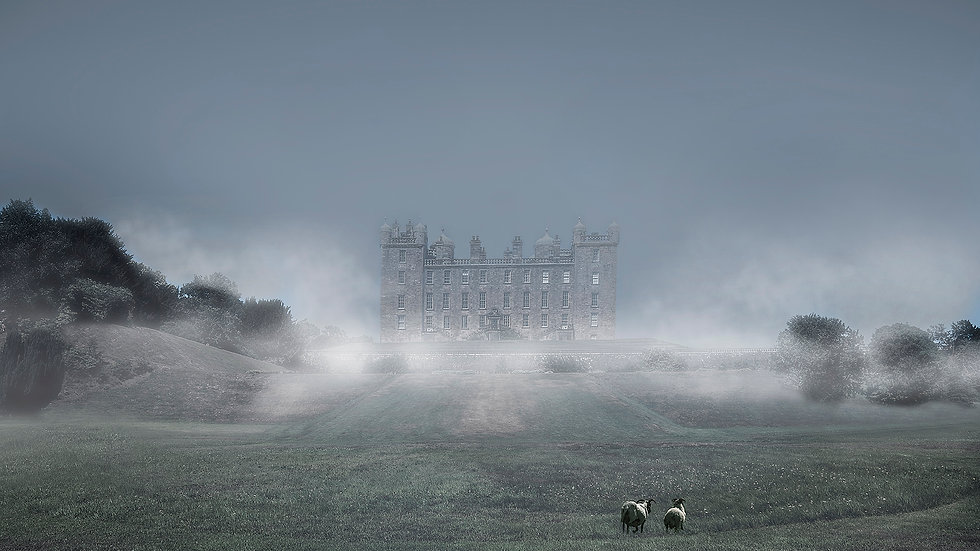 Drumlanrig Castle (Greeting Card)
