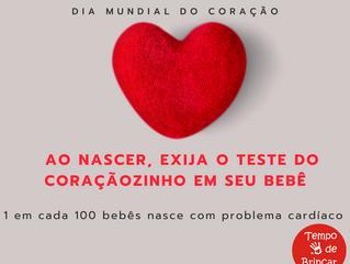 Teste do coraçãozinho é direito de todo bebê