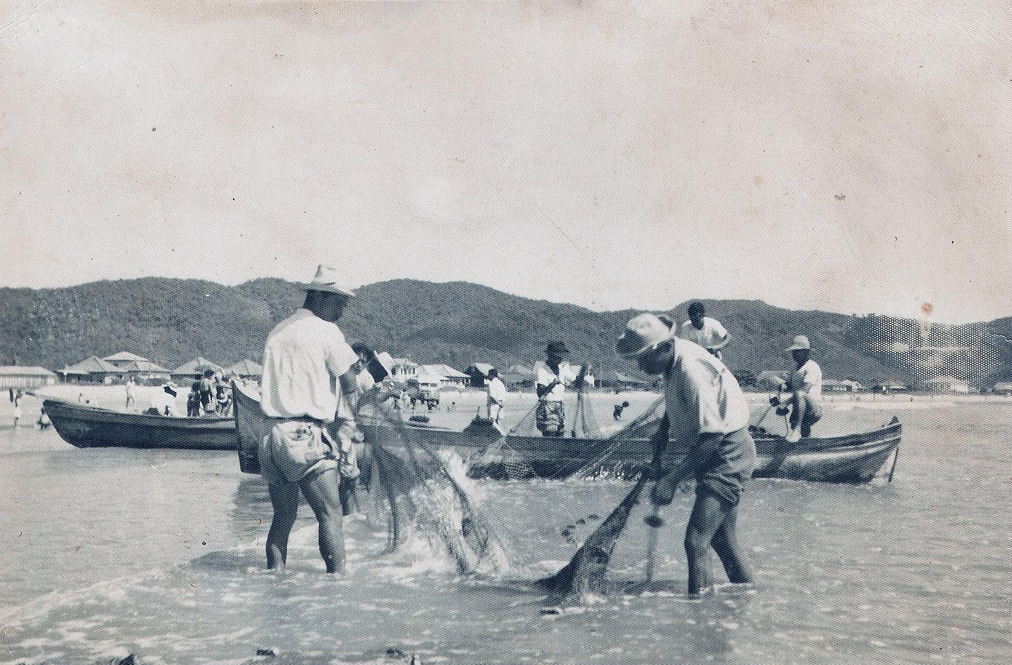 075 - Pesca do Arrastão, década de 195