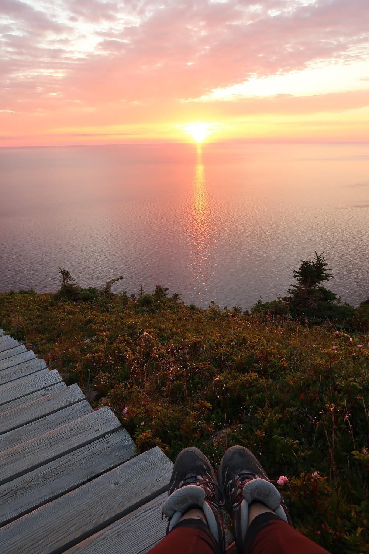 Sur le Skyline Trail, dans le Parc National des Hautes Terres du Cap-Breton