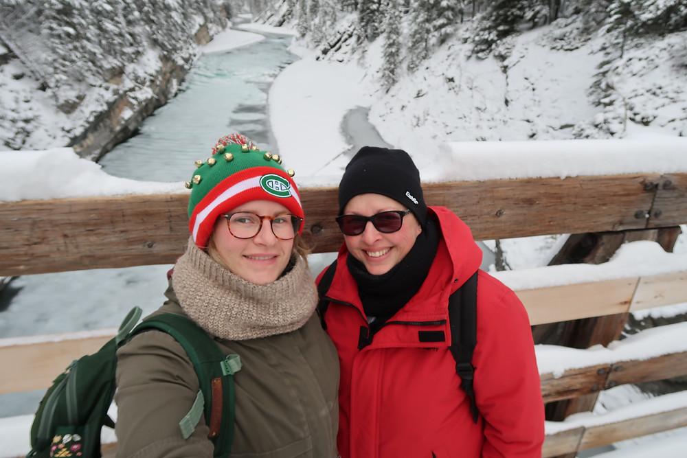 Selfie au Stewart Canyon