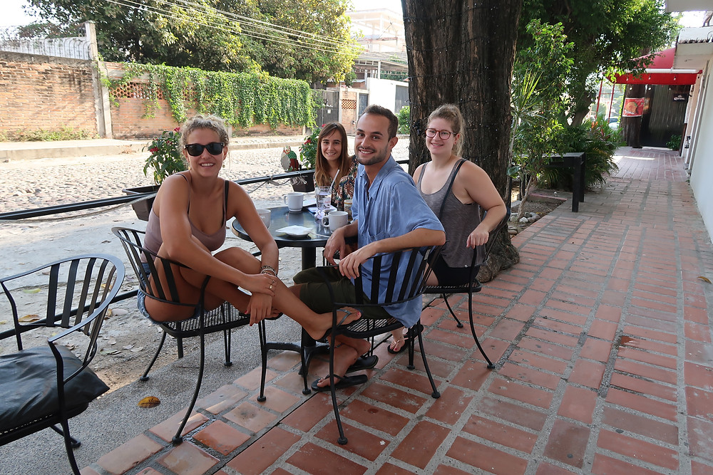 Avec Steph, Matxalen et Borja