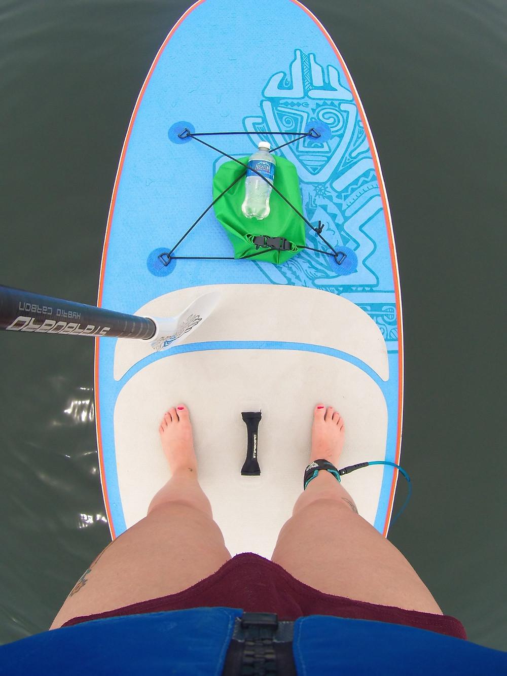 Stand-up paddle à Mahone Bay, en Nouvelle-Ecosse