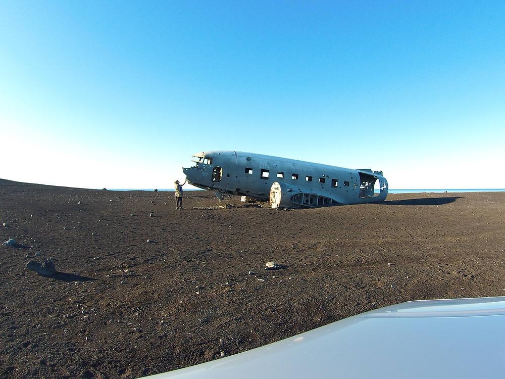 Photo prise avec un mini trépied + retardateur, Islande, 2015