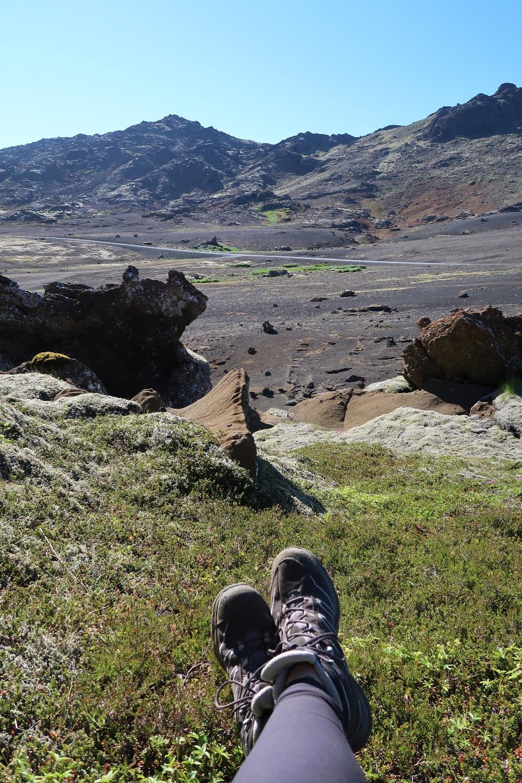 Vue sur les paysages volcaniques islandais