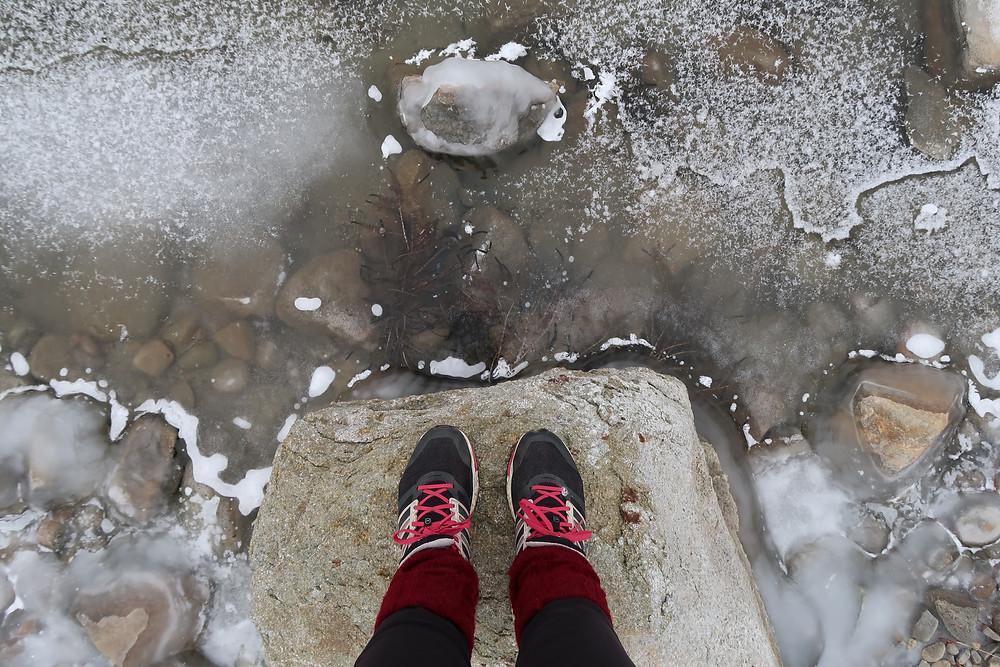 Patricia Lake en Alberta, la nature est figée