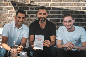 Dr. Erkut Sögüt, Robert Pires & Charlie Pentol-Levy