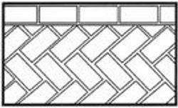 Herringbone-45-with-Header-Course