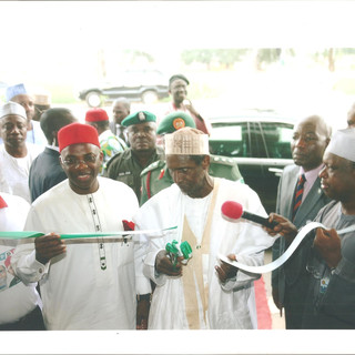 President Yardua commissioning