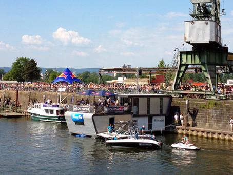 BOOTE und SUP am Freitag im Zollhafen Mainz