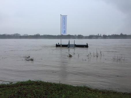 Hochwasser =     super Aussicht         +eigene Insel.
