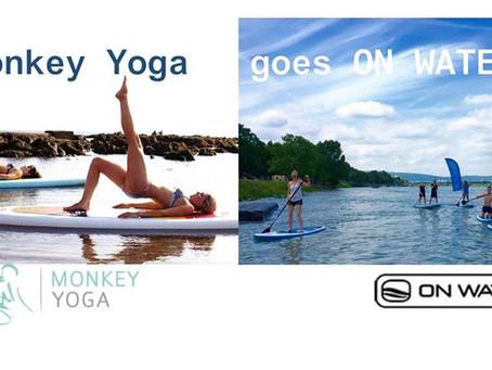 MONKEY YOGA goes ON WATER