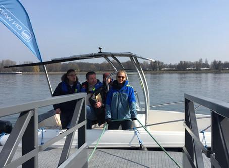 Dreißig frischgebackene Skipper eröffnen die Bootssaison 2018.