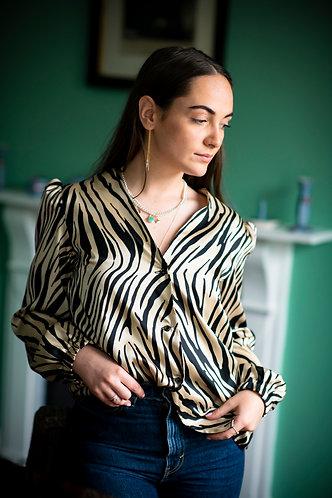 Sophia Zebra Shirt