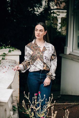 Hermione Autumn French Silk Shirt