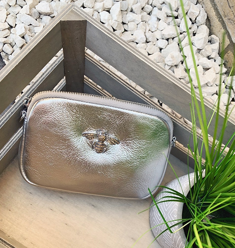 Leather Bee Bag