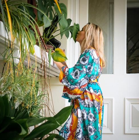 Royal Silk Kimono