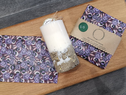 Candle and Wrap Set