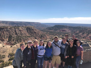 Searching for Community: MVNU's Service-Learning Trip to Cactus, Texas