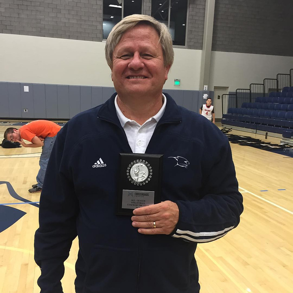 Coach Paul Swanson - Photo via MVNU SID