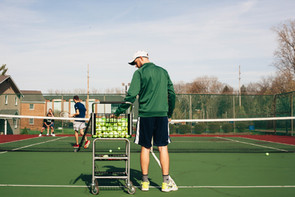 Tennis completes first year back
