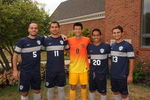 Men's soccer team graduates five