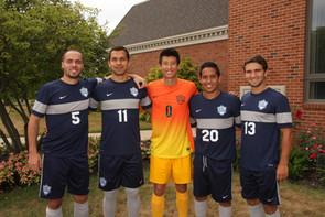 Men's soccer team graduates five