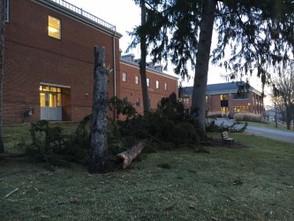 Strong winds sweep through MVNU
