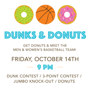 "Eat donuts, see dunks at ""Meet the Team"" night"