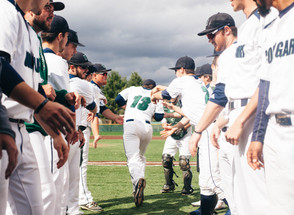 Baseball falls in late inning surges