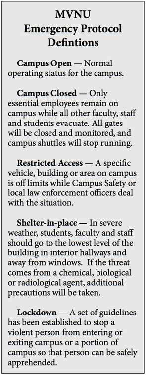 New security policies aim to protect campus in case of emergency